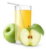 Apfelsaft lizenzfreie stockbilder