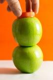 Apfelsaft Stockfoto