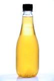 Apfelsaftflasche stockbilder