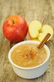 Apfelsauce Lizenzfreies Stockfoto