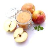 Apfelsauce Stockfoto