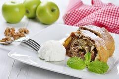 Apfelstrudel Lizenzfreies Stockbild