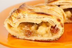 Apfelstrudel (apple pie) Stock Photography
