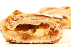 Apfelstrudel (apple pie) Royalty Free Stock Image