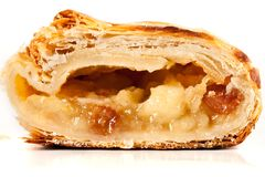 Apfelstrudel (apple pie) Stock Images