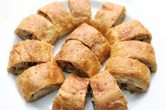 Apfelstrudel, apple strudel Stock Images
