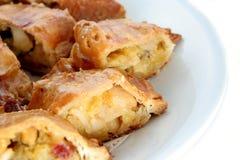 Apfelstrudel, milhojas de manzana Imagen de archivo libre de regalías