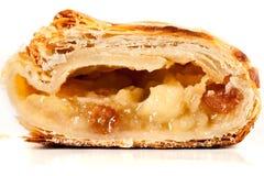 Apfelstrudel (torta de maçã) Imagens de Stock