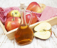 Apfelwein-Essig Stockbilder