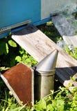 aphrodisiac Εξοπλισμός μελισσοκόμων Στοκ φωτογραφία με δικαίωμα ελεύθερης χρήσης