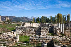 Aphrodisias, agora Photo stock