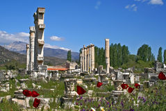 Aphrodisias ancient city Royalty Free Stock Image
