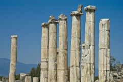 Aphrodisias archaeological ruins Stock Photo