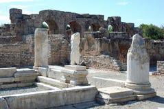 Aphrodisias - fördärvar - Turkiet Royaltyfria Bilder