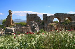 Aphrodisias oude stad Royalty-vrije Stock Afbeelding