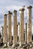 Aphrodisias-Spalten Lizenzfreies Stockfoto