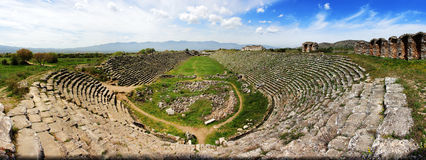 Aphrodisias stadium Royalty Free Stock Photos
