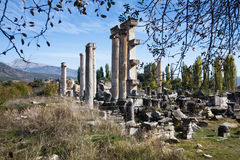 Aphrodisias, Temple of Aphrodite Stock Photos