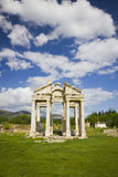 Aphrodisias Tetrapylon Royalty Free Stock Photography