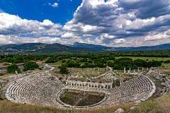 Aphrodisiasamphitheater lizenzfreies stockfoto