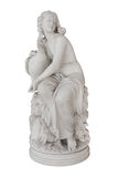 Aphrodite με μια χήνα - απομονωμένο άγαλμα στο Achilleion στην Κέρκυρα Στοκ Εικόνες