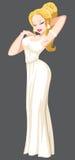 Aphrodite που απομονώνεται απεικόνιση αποθεμάτων