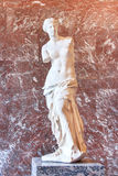 Aphrodite της Μήλου στο μουσείο του Λούβρου Παρίσι Στοκ φωτογραφία με δικαίωμα ελεύθερης χρήσης