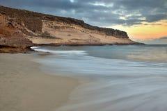 aphrodite τόπος γεννήσεως Κύπρος κοντά στα κύματα tou romiou βράχου PETRA paphos Στοκ φωτογραφίες με δικαίωμα ελεύθερης χρήσης