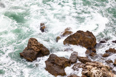 aphrodite τόπος γεννήσεως Κύπρος κοντά στα κύματα tou romiou βράχου PETRA paphos Στοκ εικόνες με δικαίωμα ελεύθερης χρήσης