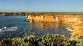 aphrodite τόπος γεννήσεως Κύπρος κοντά στα κύματα tou romiou βράχων PETRA paphos Στοκ Φωτογραφία