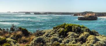 aphrodite τόπος γεννήσεως Κύπρος κοντά στα κύματα tou romiou βράχων PETRA paphos Στοκ φωτογραφίες με δικαίωμα ελεύθερης χρήσης