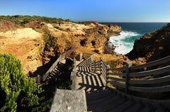 aphrodite τόπος γεννήσεως Κύπρος κοντά στα κύματα tou romiou βράχων PETRA paphos Στοκ εικόνες με δικαίωμα ελεύθερης χρήσης