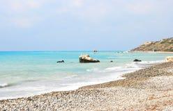 aphrodite τόπος γεννήσεως Κύπρος  Στοκ Φωτογραφία