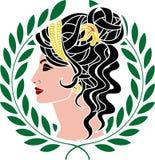 Aphrodite διανυσματική απεικόνιση