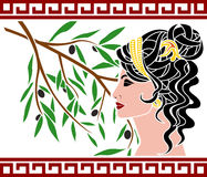 Free Aphrodite And Olive Branch Stock Photo - 26537800