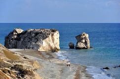 Aphrodite Birthplace Rock Royalty Free Stock Image