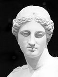 Aphrodite: Goddess of Love. Head of the statue of Aphrodite, or Venus, the goddess of love Stock Images