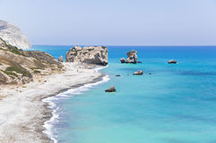 Aphrodite's birthplace Cyprus Royalty Free Stock Photos