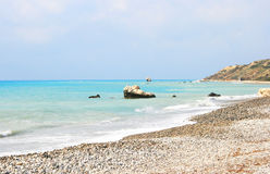 Aphrodite's legendary birthplace in Cyprus Stock Photography