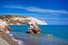 Aphrodite's legendary birthplace in Paphos, Cyprus Royalty Free Stock Photos