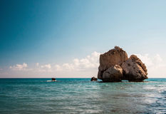 Aphrodite's legendary birthplace Stock Images