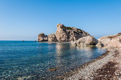 Aphrodite's Rock Royalty Free Stock Photography