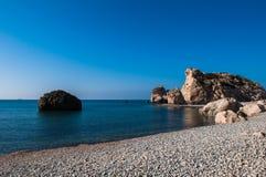 Aphrodite's Rock Stock Image