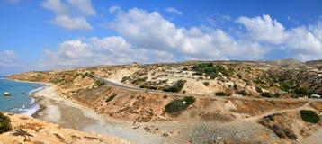 Aphrodite's Rock, Cyprus. Stock Image