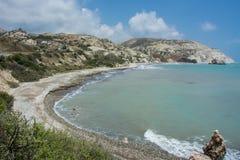 Aphroditegeburtsort, Phaphos, Zypern stockbild