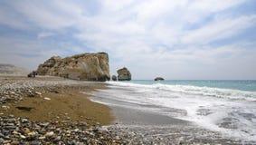 Aphroditegeburtsplatz in Zypern lizenzfreies stockfoto