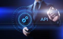 API应用编程界面发展技术概念 皇族释放例证