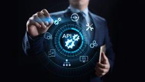 API应用编程界面发展技术概念 库存例证