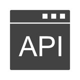 API Στοκ φωτογραφία με δικαίωμα ελεύθερης χρήσης