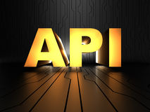 Api (Application Programming Interface) Fotografia Stock